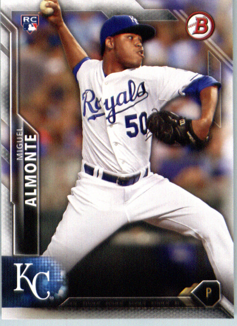 2016 Bowman #136 Miguel Almonte RC