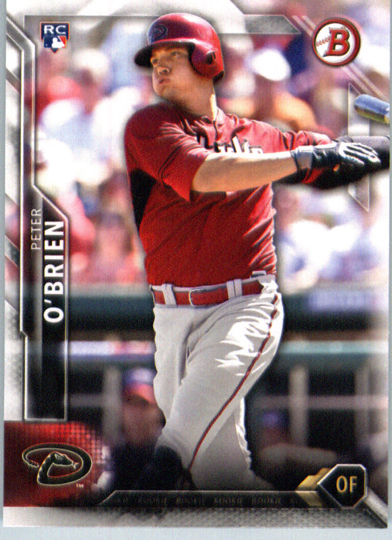 2016 Bowman #141 Peter O'Brien RC