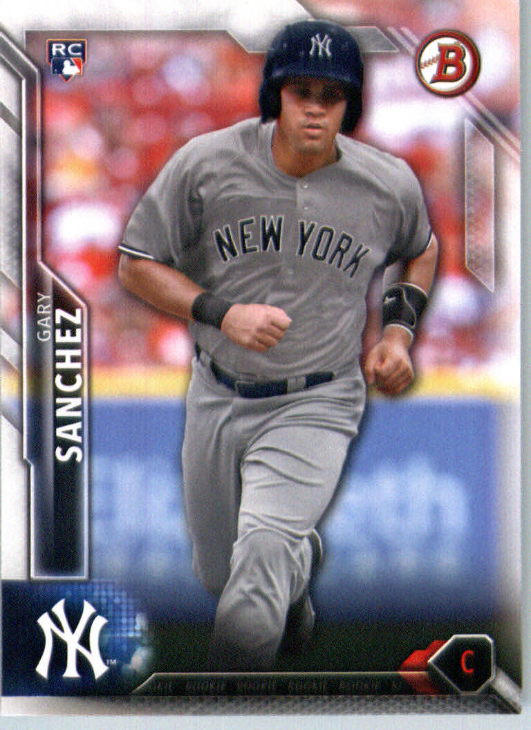 2016 Bowman #143 Gary Sanchez RC