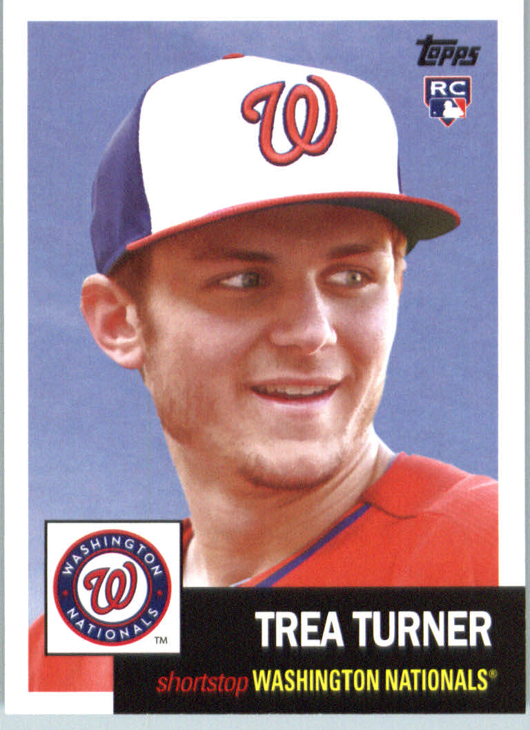 2016 Topps Archives #68 Trea Turner RC