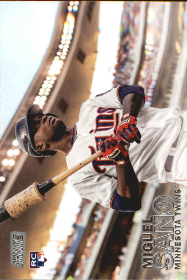 2016 Stadium Club #81A Miguel Sano RC