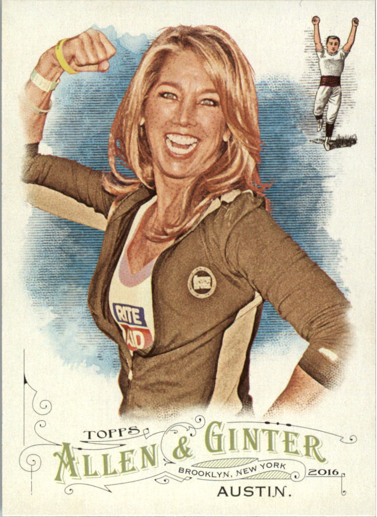 2016 Topps Allen and Ginter #8 Denise Austin