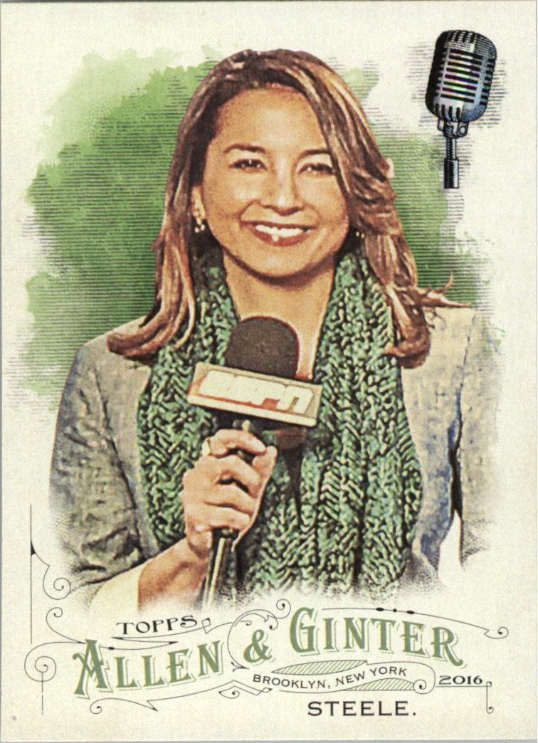 2016 Topps Allen and Ginter #110 Michele Steele