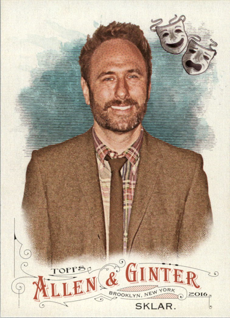 2016 Topps Allen and Ginter #114 Randy Sklar