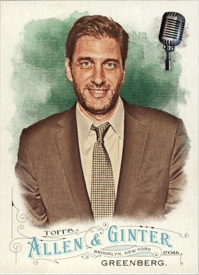 2016 Topps Allen and Ginter #145 Mike Greenberg