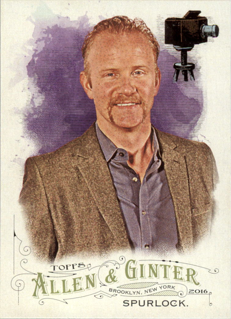 2016 Topps Allen and Ginter #166 Morgan Spurlock