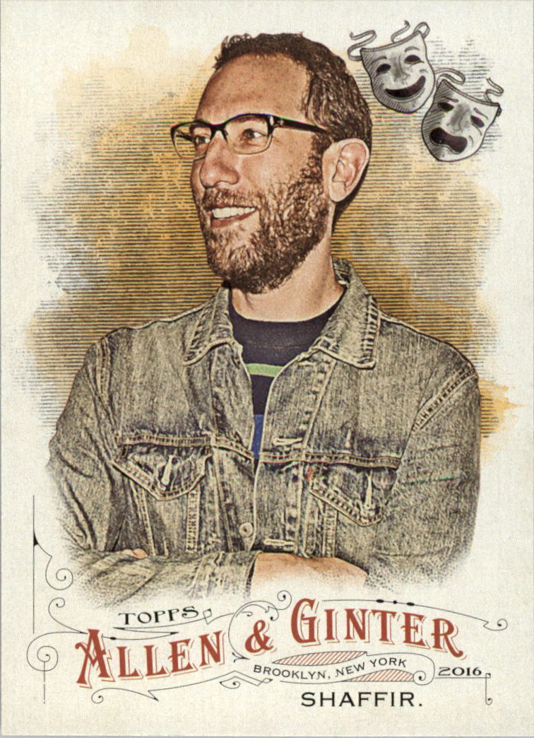 2016 Topps Allen and Ginter #198 Ari Shaffir