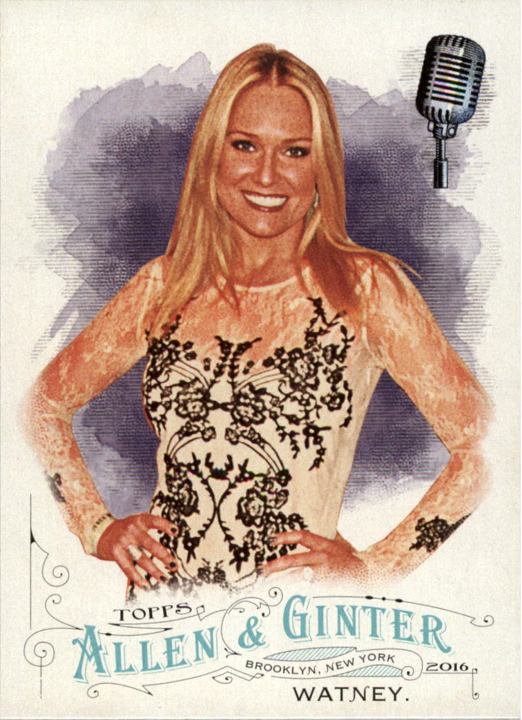 2016 Topps Allen and Ginter #213 Heidi Watney