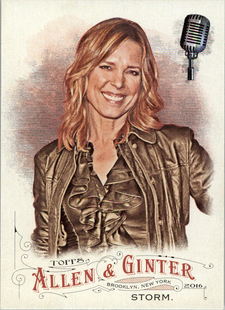 2016 Topps Allen and Ginter #216 Hannah Storm