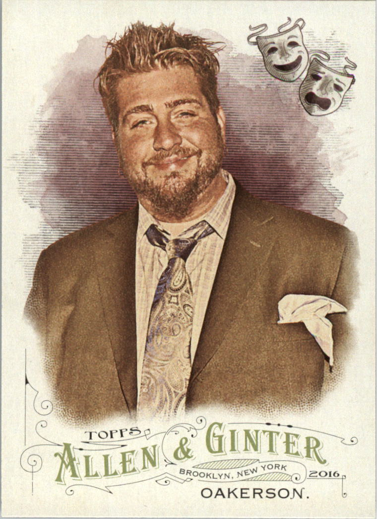 2016 Topps Allen and Ginter #243 Jay Oakerson