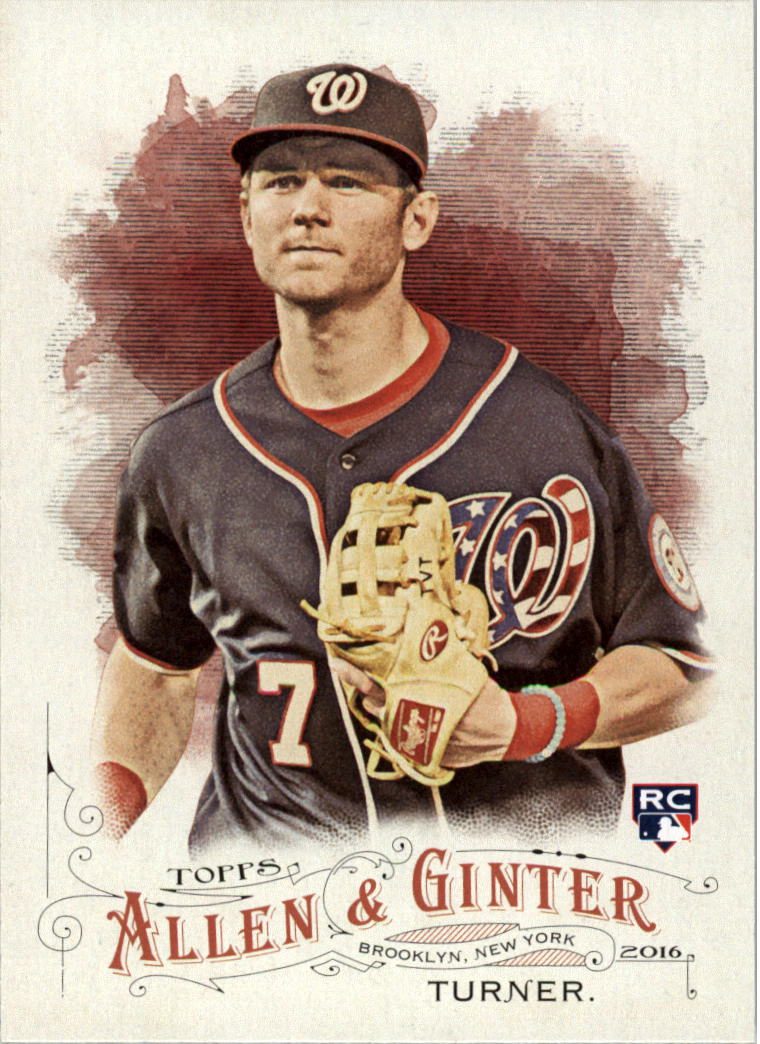 2016 Topps Allen and Ginter #300 Trea Turner RC