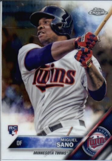 2016 Topps Chrome #104 Miguel Sano RC