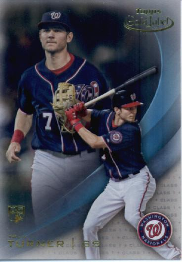 2016 Topps Gold Label Class 1 #74 Trea Turner RC