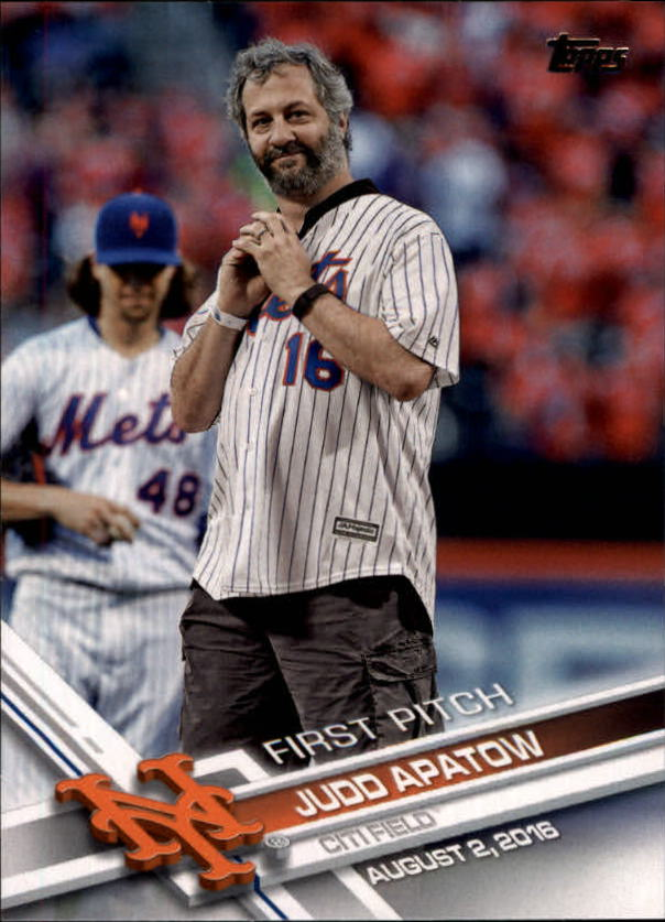 2017 Topps First Pitch #FP3 Judd Apatow