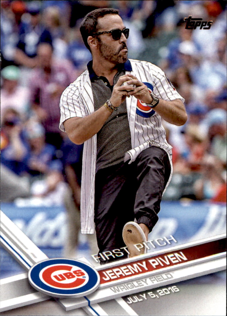 2017 Topps First Pitch #FP4 Jeremy Piven