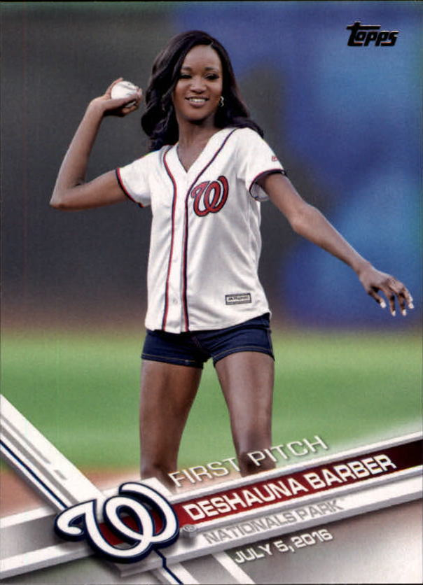 2017 Topps First Pitch #FP5 Deshauna Barber