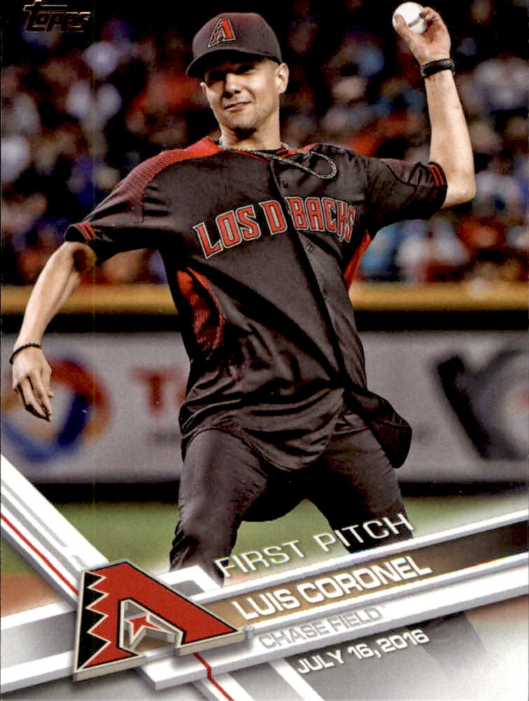 2017 Topps First Pitch #FP13 Luis Coronel