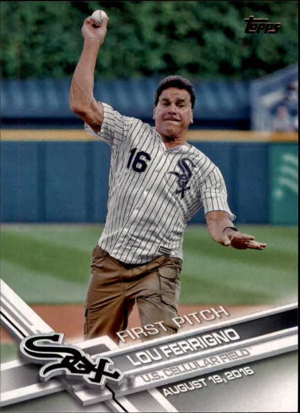 2017 Topps First Pitch #FP16 Lou Ferrigno