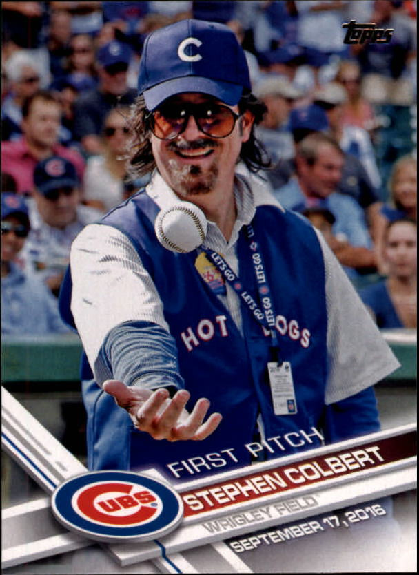 2017 Topps First Pitch #FP22 Stephen Colbert