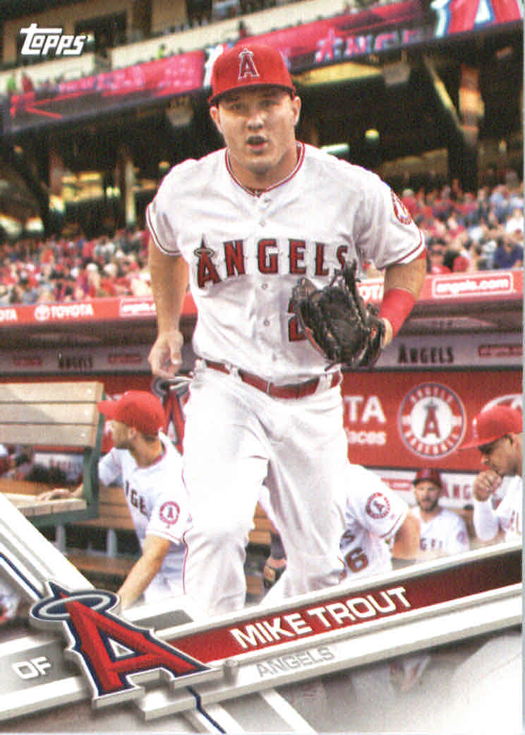 2017 American League All-Stars Topps #AL1 Mike Trout