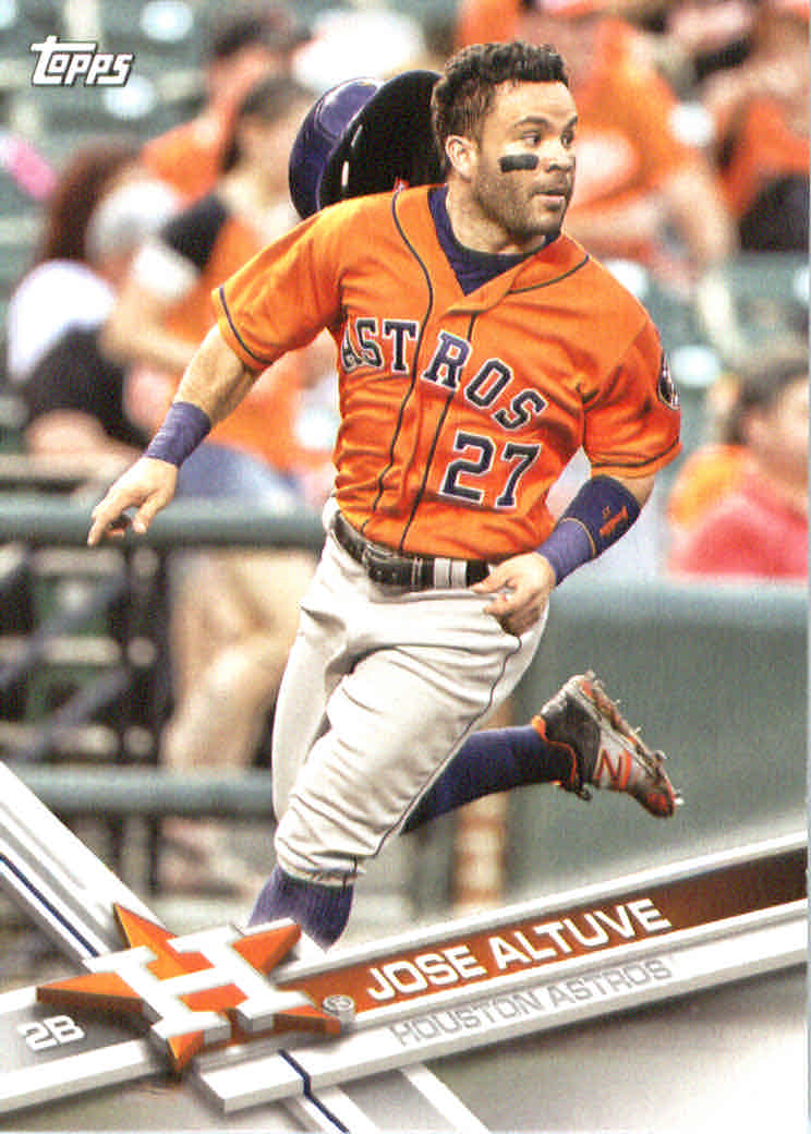 2017 American League All-Stars Topps #AL6 Jose Altuve
