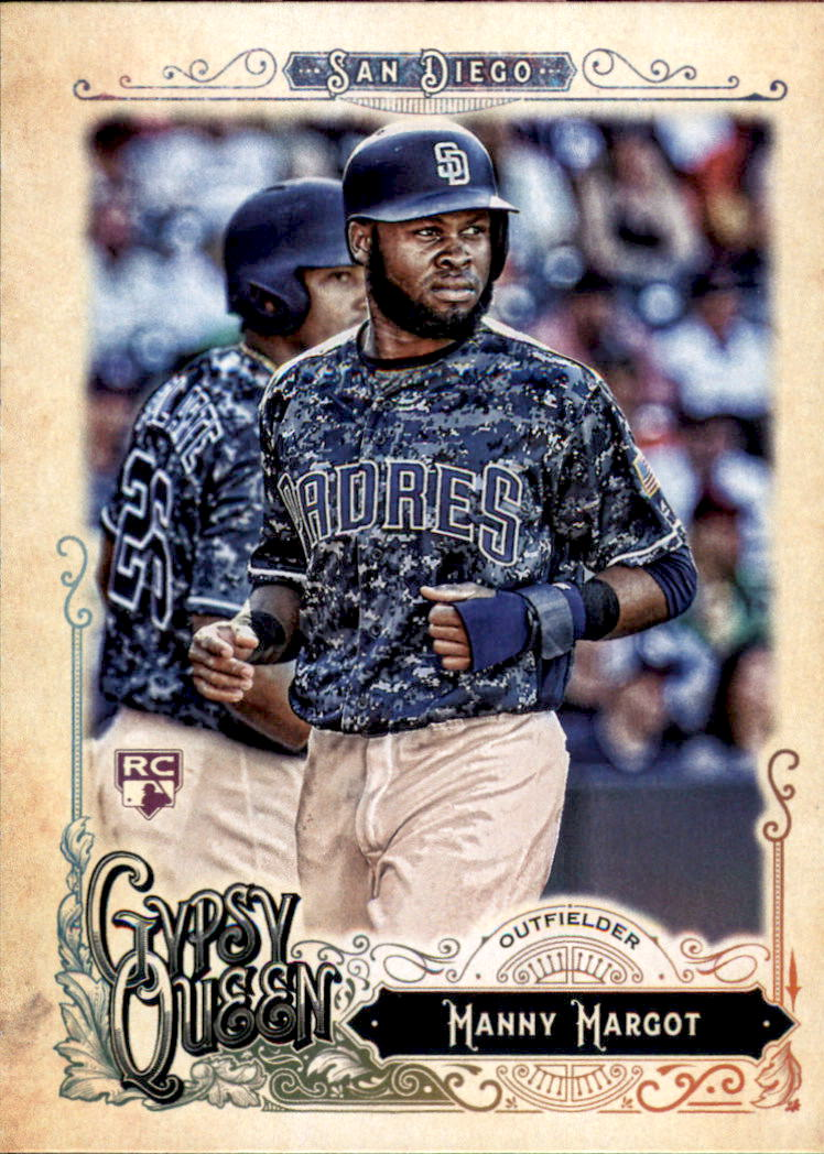 2017 Topps Gypsy Queen #43 Manny Margot RC