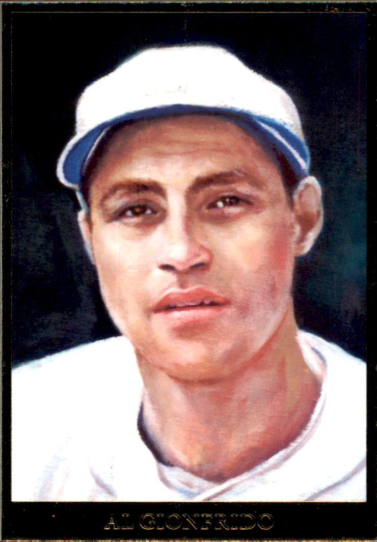 2009 Italian American Baseball Heroes #53 Al Gionfriddo