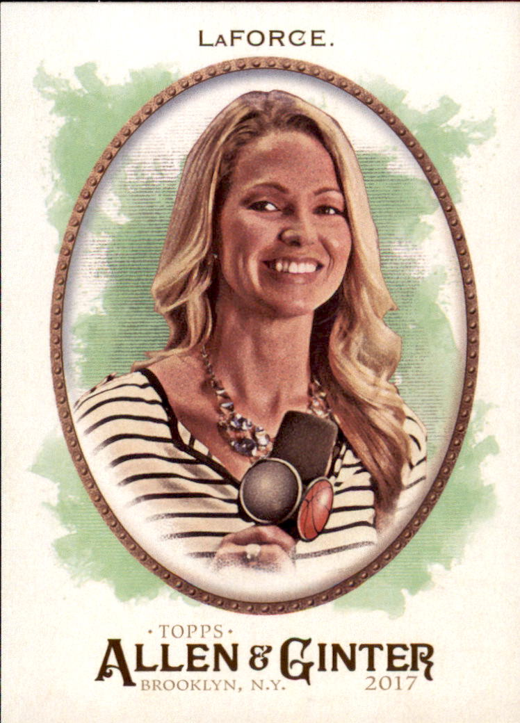 2017 Topps Allen and Ginter #67 Allie LaForce