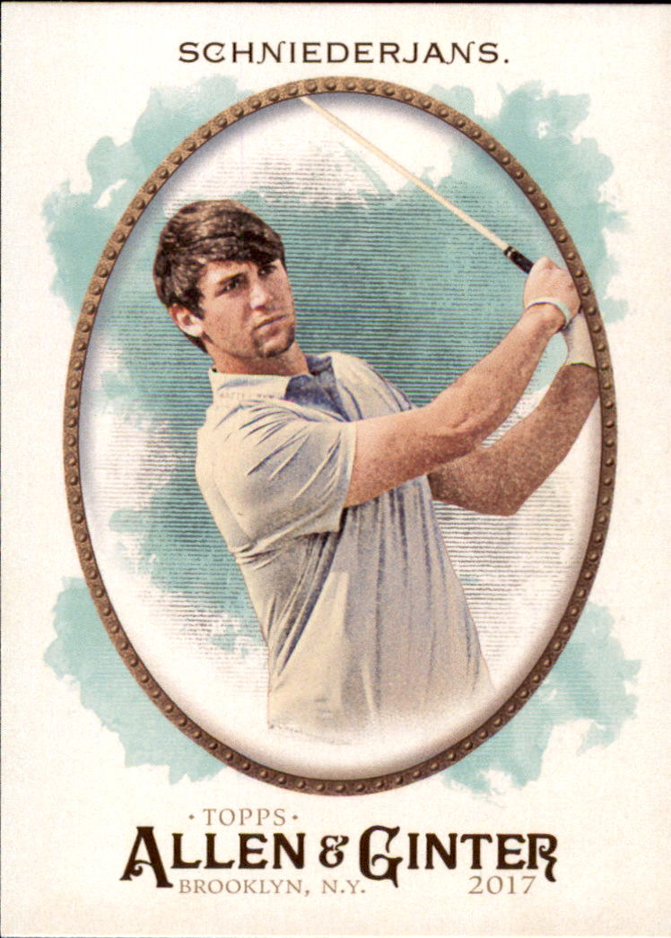 2017 Topps Allen and Ginter #127 Ollie Schniederjans