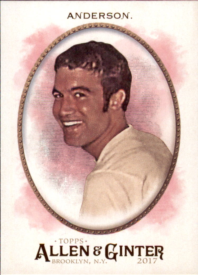 2017 Topps Allen and Ginter #142 Tom Anderson