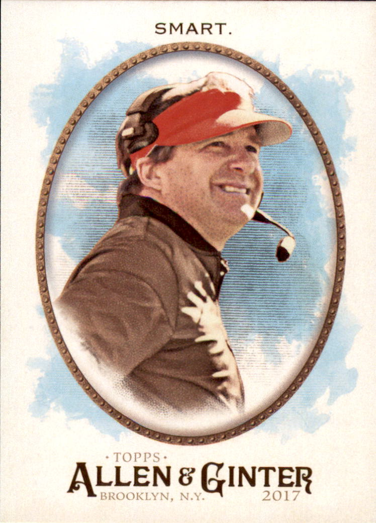 2017 Topps Allen and Ginter #179 Kirby Smart CO