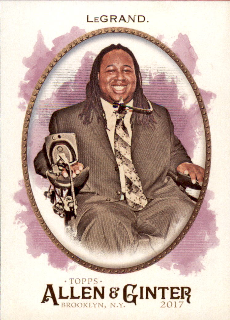 2017 Topps Allen and Ginter #187 Eric LeGrand