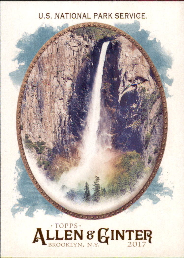2017 Topps Allen and Ginter #224 U.S. National Park Service