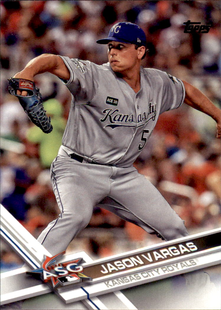 2017 Topps Update #US20 Jason Vargas AS