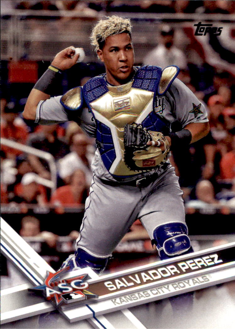 2017 Topps Update #US33A Salvador Perez AS