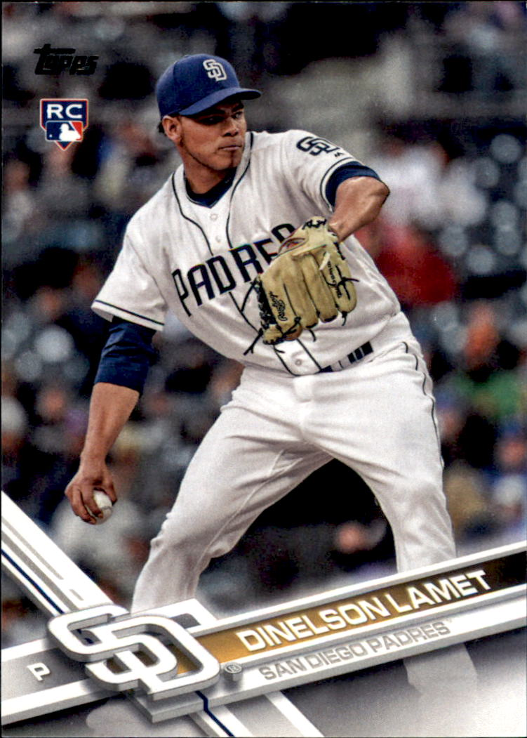 2017 Topps Update #US35 Dinelson Lamet RC