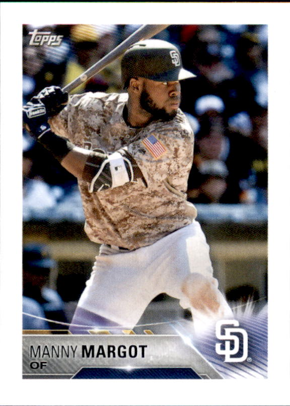 2018 Topps Stickers #259 Manny Margot