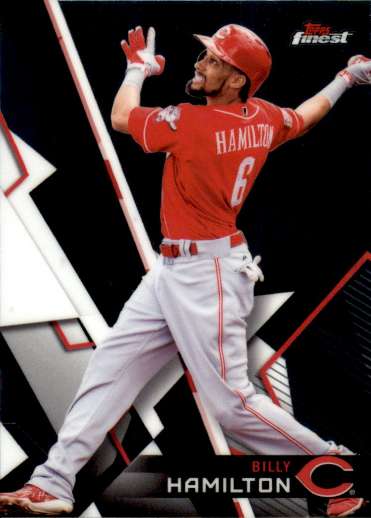 2018 Finest #33 Billy Hamilton