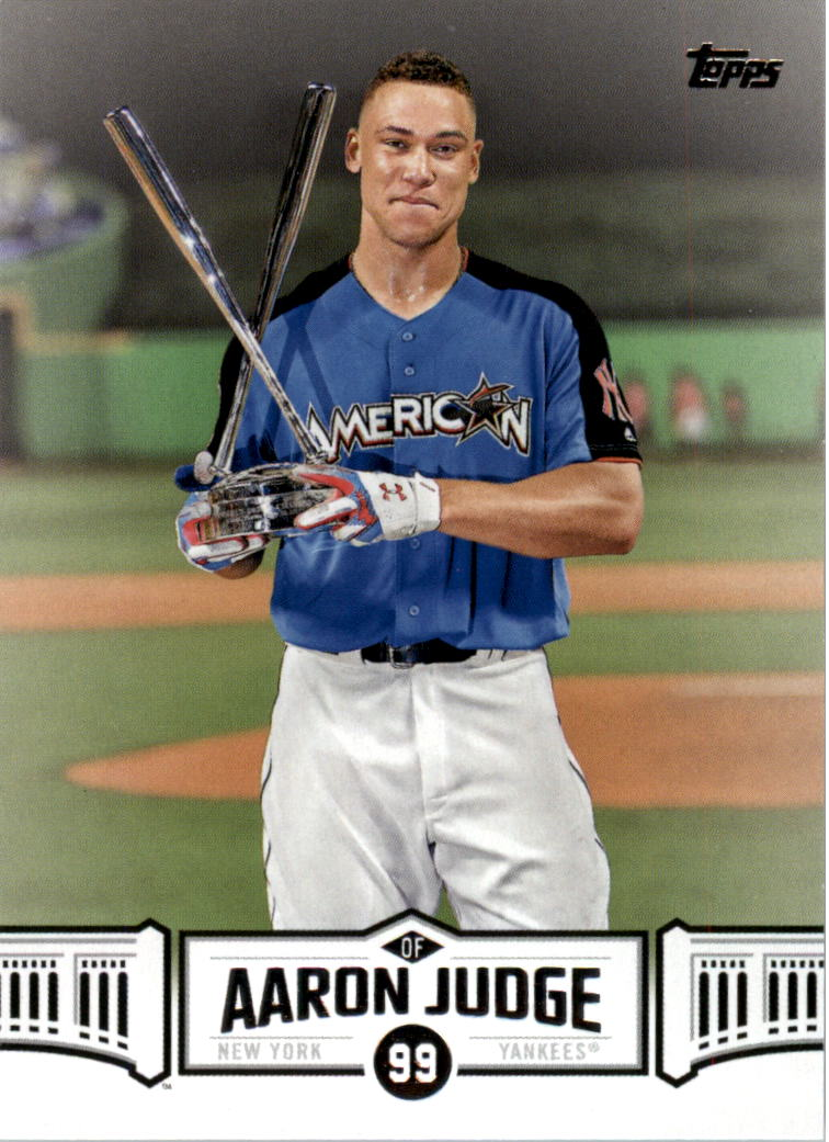 2018 Topps Aaron Judge Highlights #AJ15 ...