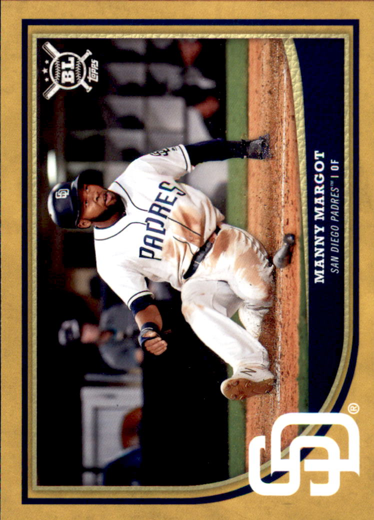 2018 Topps Big League Gold #18 Manny Margot