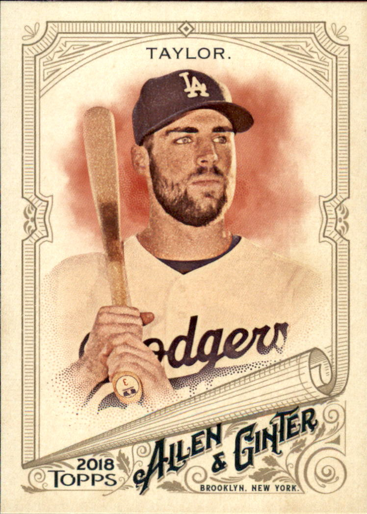 2018 Topps Allen and Ginter #6 Chris Taylor