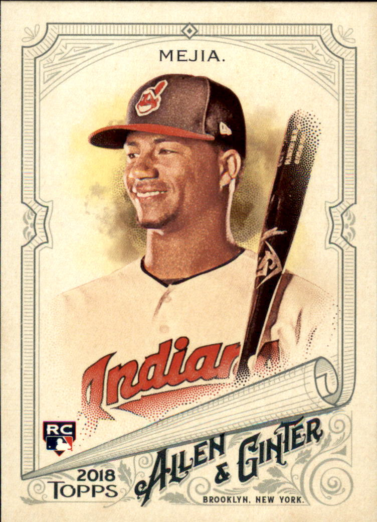 2018 Topps Allen and Ginter #9 Francisco Mejia RC