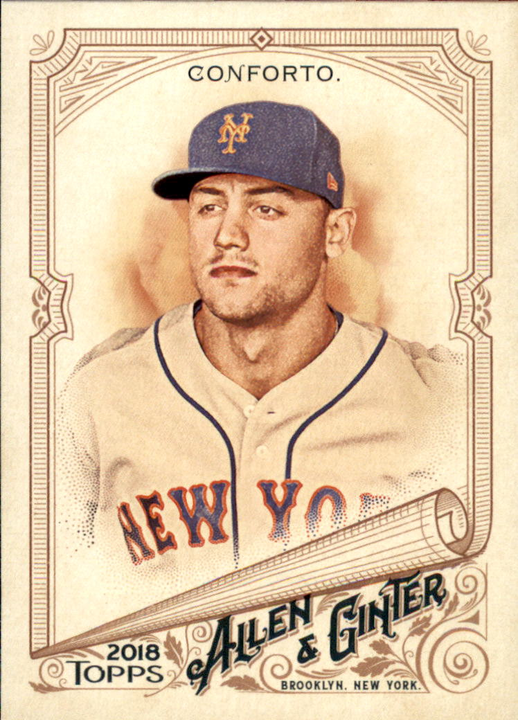 2018 Topps Allen and Ginter #22 Michael Conforto