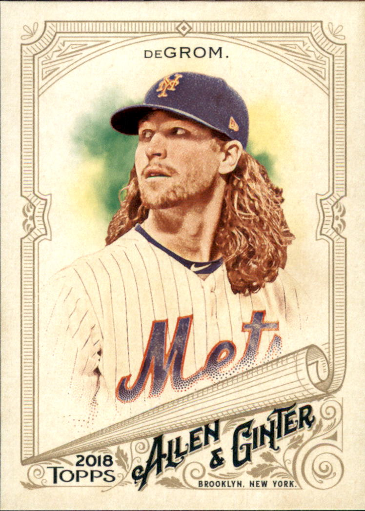 2018 Topps Allen and Ginter #105 Jacob deGrom