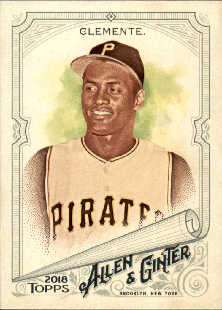 2018 Topps Allen and Ginter #107 Roberto Clemente