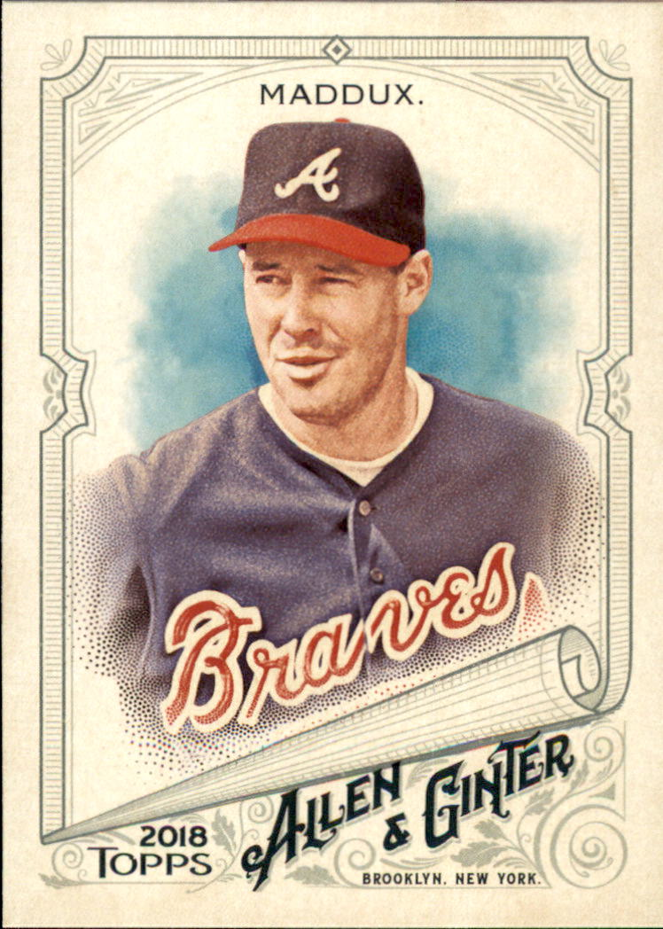 2018 Topps Allen and Ginter #131 Greg Maddux