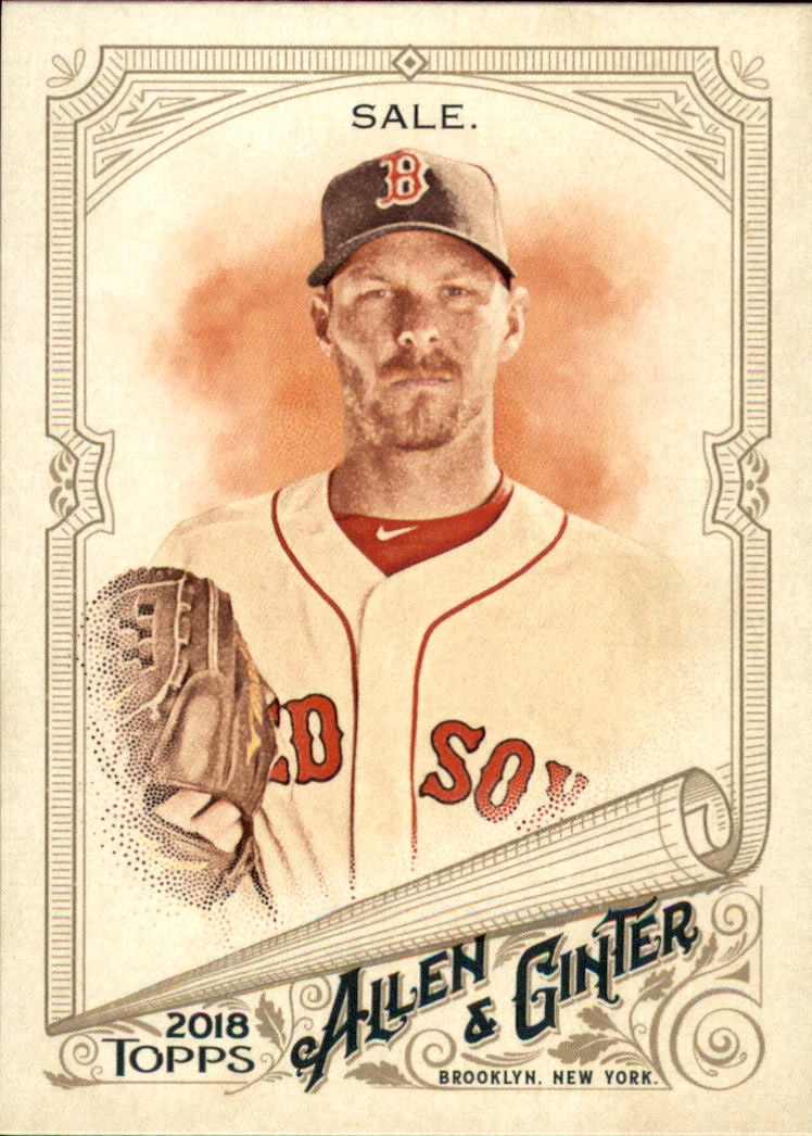2018 Topps Allen and Ginter #135 Chris Sale