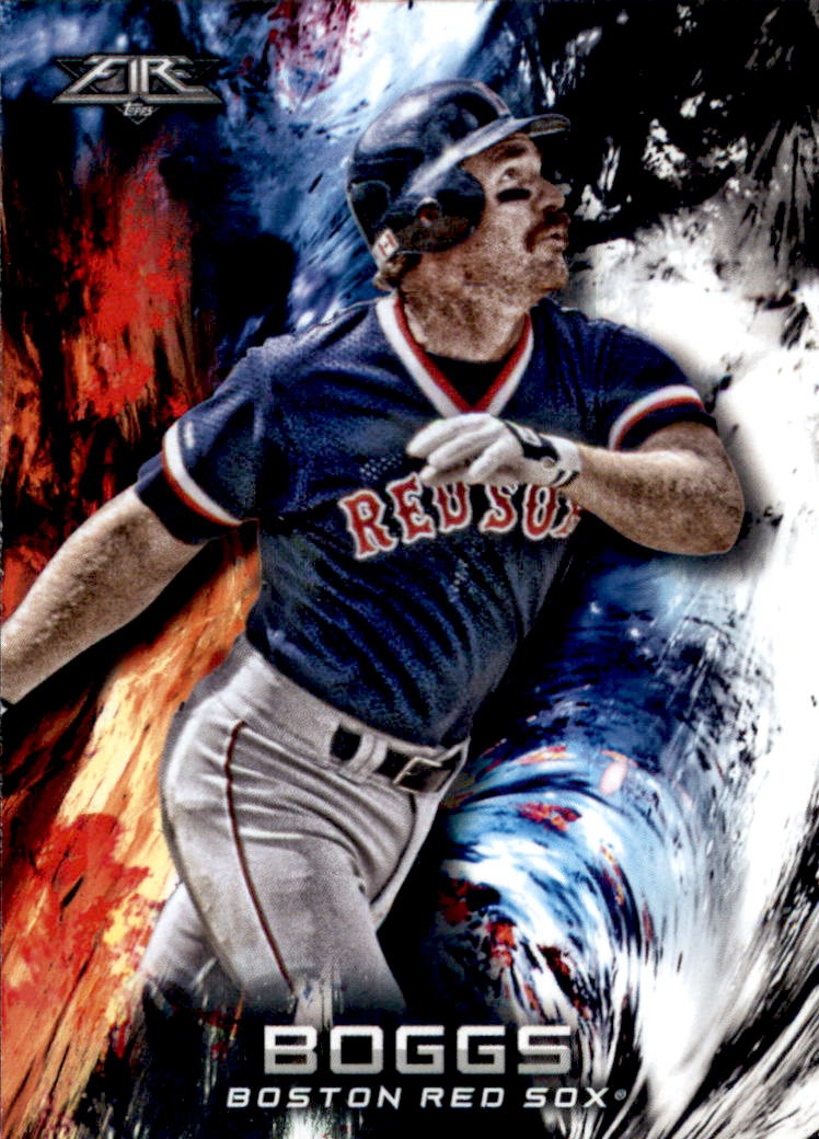 2018 Topps Fire #57 Wade Boggs