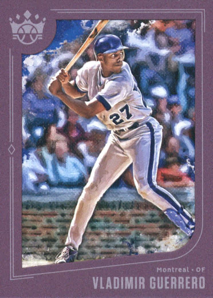 You Choose 2019 Diamond Kings Baseball Plum Frame Parallel Singles