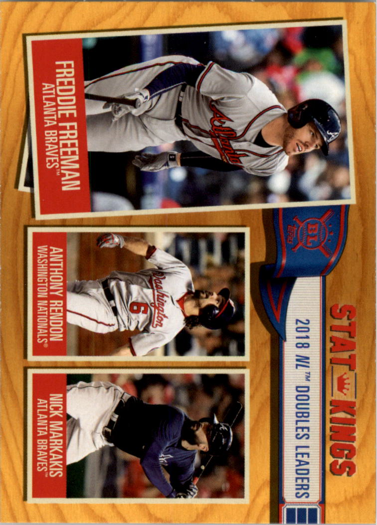 2019 Topps Baseball #350 Nick Markakis Atlanta Braves
